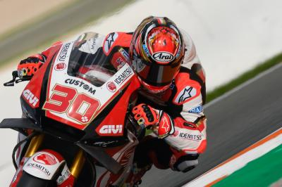 "Crutchlow on Nakagami: ""I think he's on for a good year"""