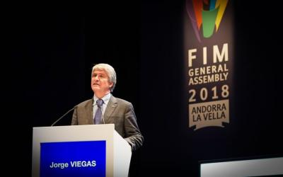 Jorge Viegas, elegido nuevo presidente de la FIM
