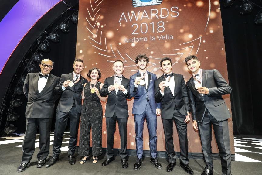 FIM Gala: 2018 World Champions celebrated in Andorra