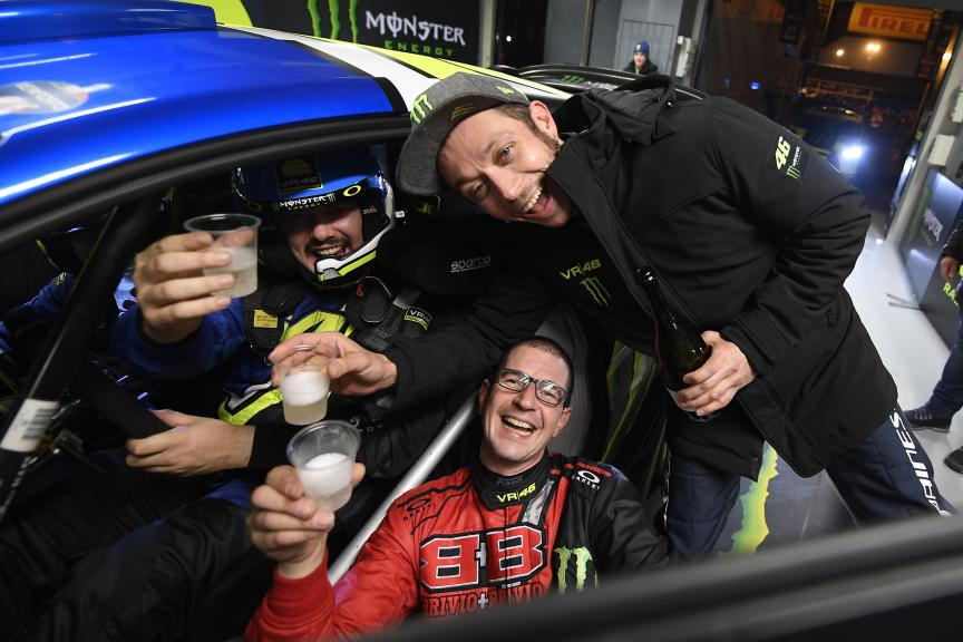 Valentino Rossi, Monster Monza Rally