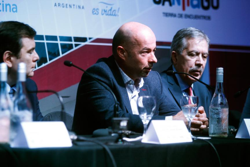 Press-Conference, Termas de Rio Hondo