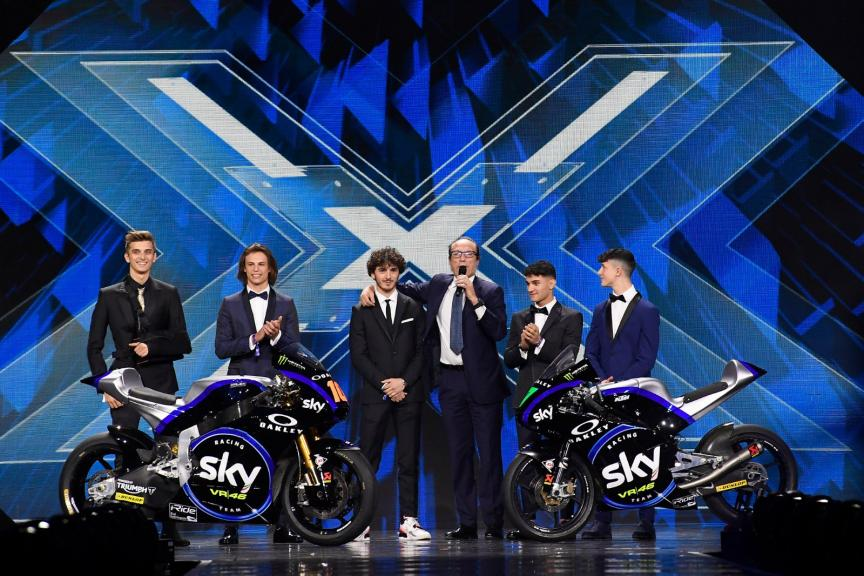 SKY RACING TEAM VR46 MOTO2/MOTO3 - X FACTOR - 2019 SEASON NEW LIVERY
