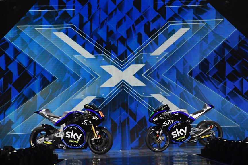 SKY RACING TEAM VR46 MOTO2/MOTO3 - X FACTOR - 2019 SEASON NEW LIVERY