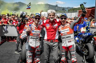 MotoGP™ Legends talk about team orders