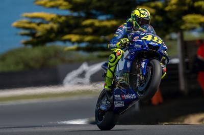 """Rossi su Marquez: """"È coraggioso, sembra non aver paura"""""""