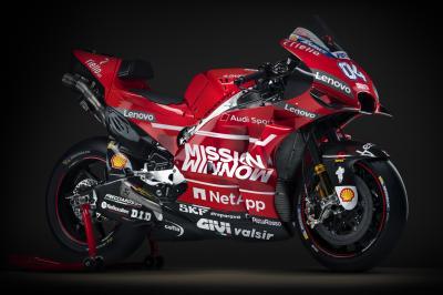 Les images du photo shooting Ducati 2019