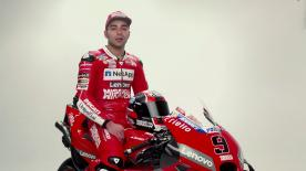The Italian joins Ducati's factory outfit in 2019 for what could be his most important season in MotoGP™ yet.