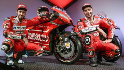 The 2019 Mission Winnow Ducati team presented at Neuchâtel