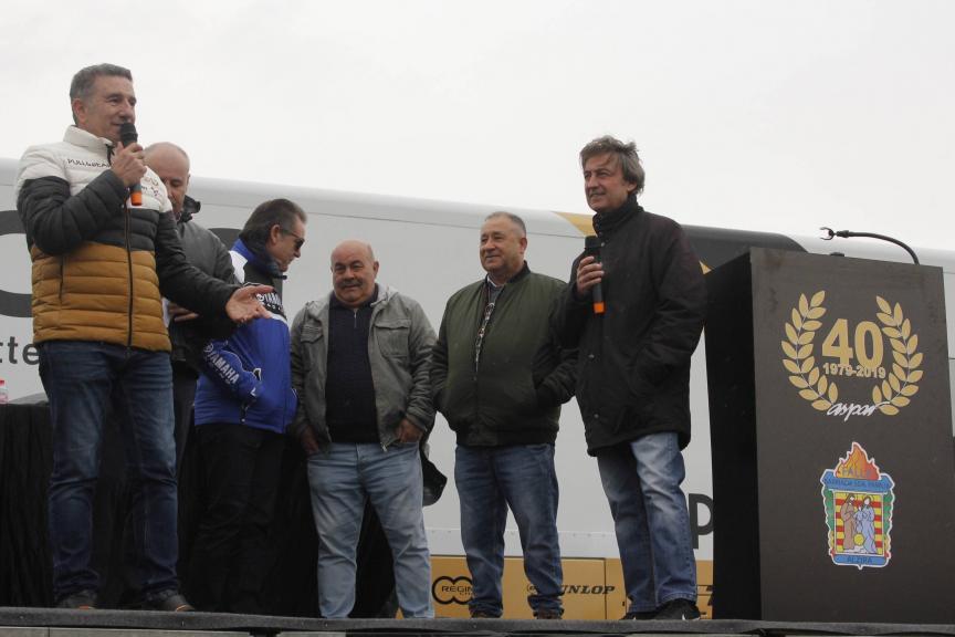 """Homenaje a Jorge Martínez """"Aspar"""" en Alzira"""