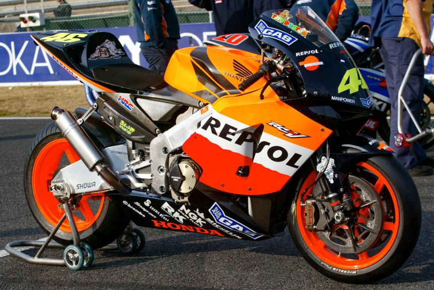 Repsol Honda Team, 2003