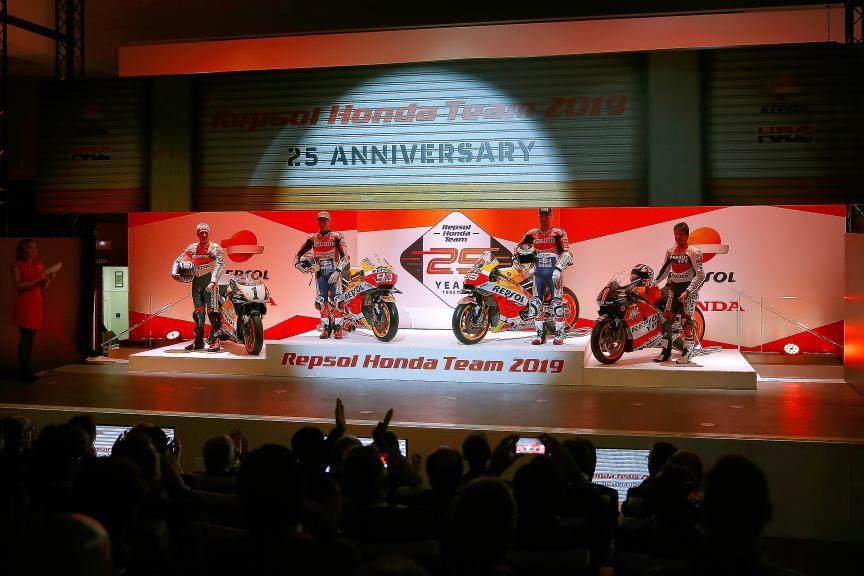 Repsol Honda Team 2019 Launch