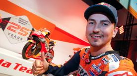 The number 99 will have to sit out the Sepang Test but how is he feeling, as he kicks off the year with his new team?