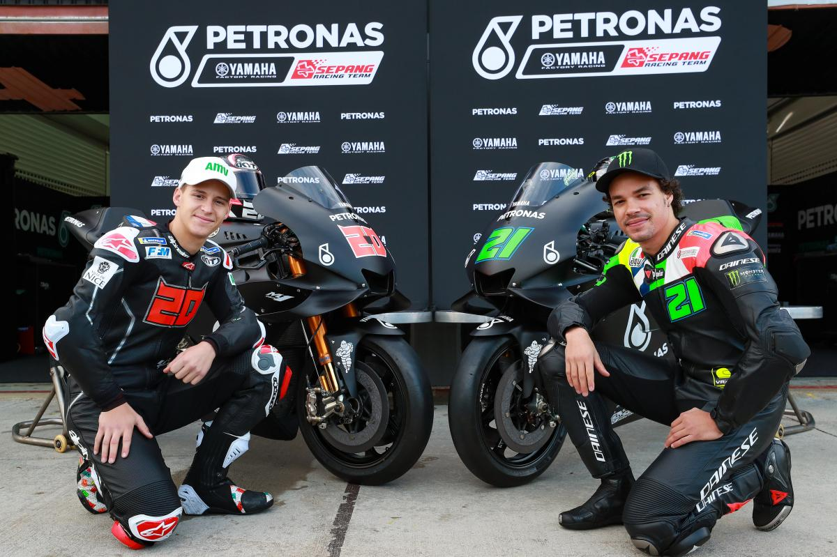 Petronas Yamaha Srt The Birth Of A Team In Under Six Months Motogp
