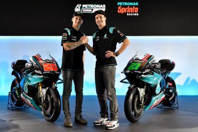 Petronas Yamaha SRT stellt sich vor