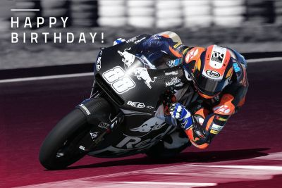 Happy birthday @88jorgemartin! 21!