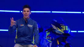 L'esordio in MotoGP™ in una struttura votata a promuovere il talento. Le prime parole di Mir alla presentazione Suzuki
