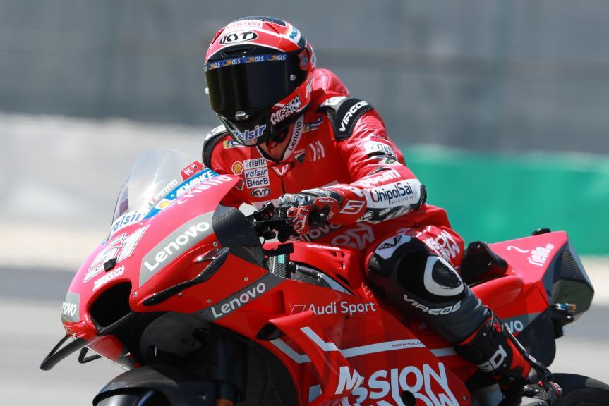 Michele Pirro, Ducati Team, Shakedown Test in Sepang