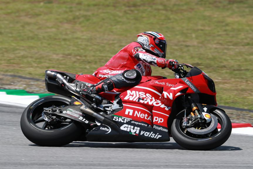 Michele Pirro, Ducati Team, Shakedown Test in Sepang