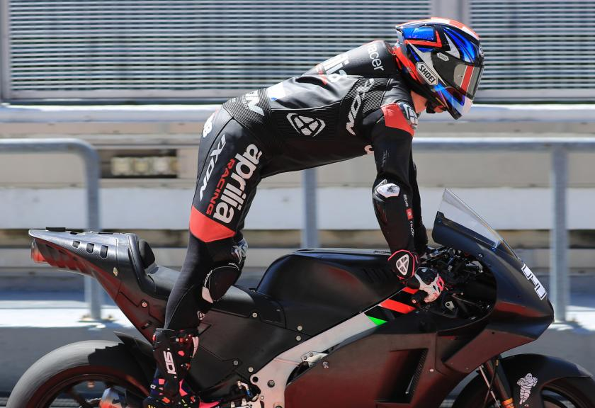 Bradley Smith,  Aprilia Racing Test Team, Shakedown Test in Sepang