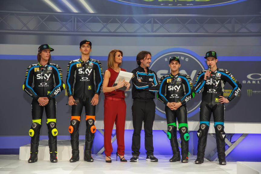 Sky Racing Team VR46 2019 launch