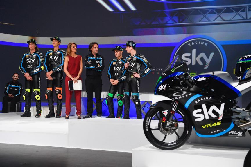 Sky Racing Team VR46 2019 launch