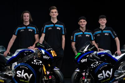 Sky Racing Team VR46 launch 2019 Moto2™, Moto3™ teams