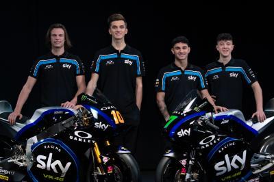 Sky Racing Team VR46 presenta sus equipos de Moto2™ y Moto3™