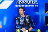 Sylvain Guintoli, Team Suzuki Ecstar, Shakedown Test in Sepang