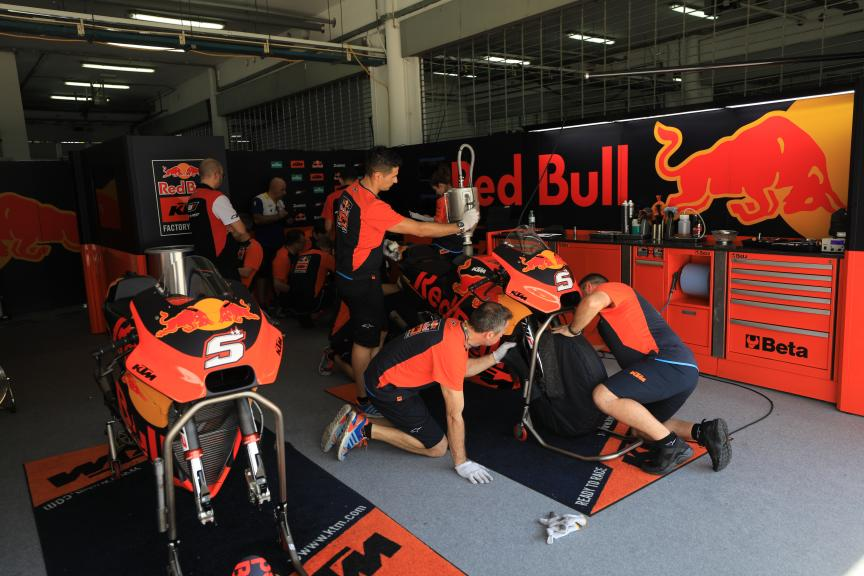 Johann Zarco, Red Bull KTM Factory Racing, Shakedown Test in Sepang