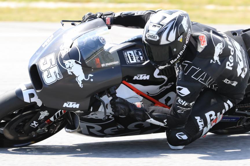 Hafizh Syahrin, Red Bull KTM Tech 3, Shakedown Test in Sepang