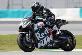 Hafizh Syahrin, Red Bull KTM Tech 3, Shakedown Test in Sepang