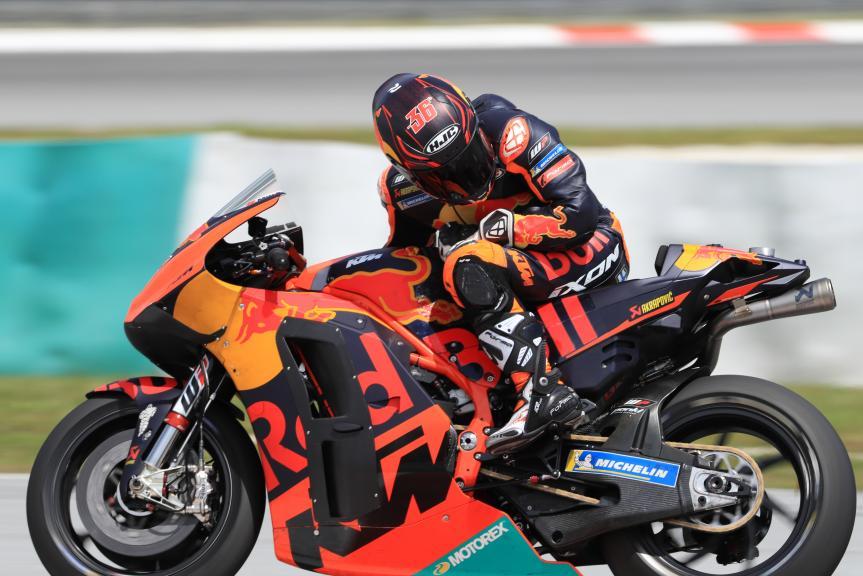 Mika Kallio, Red Bull KTM Factory Racing, Shakedown Test in Sepang