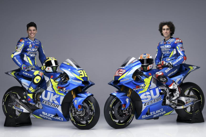 Team Suzuki Ecstar 2019 launch