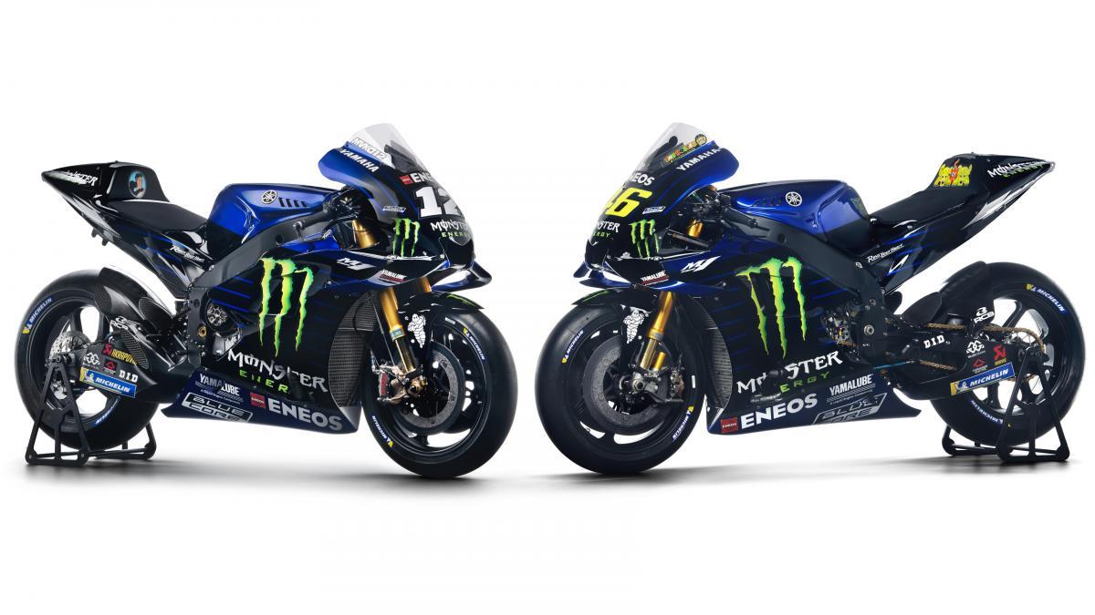 Yamaha unveil stunning Monster Energy backed 2019 livery   MotoGP™