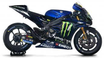 Yamaha Factory Racing bike evolution