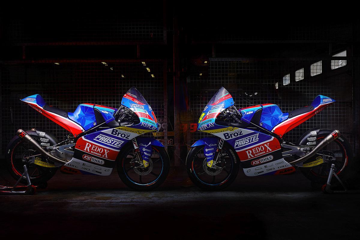 Redox PruestelGP launch 2019 Moto3™ bikes | MotoGP™