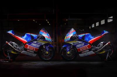 El equipo Redox Prustel GP presenta su Moto3™ de 2019