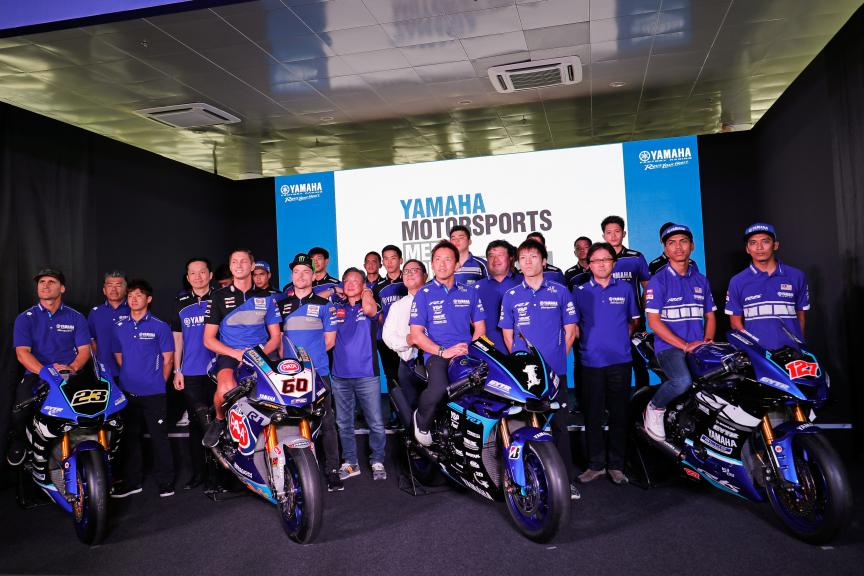 Conference Yamaha in Sepang