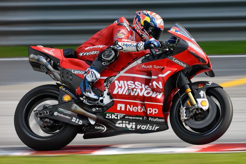 Andrea Dovizioso, Mission Winnow Ducati, MotoGP™ Sepang Winter Test