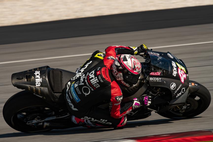 Aleix Espargaro, Aprilia Racing Team Gresini, MotoGP™ Sepang Winter Test