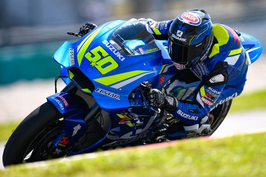 Sylvain Guintoli, Suzuki Test Team, MotoGP™ Sepang Winter Test