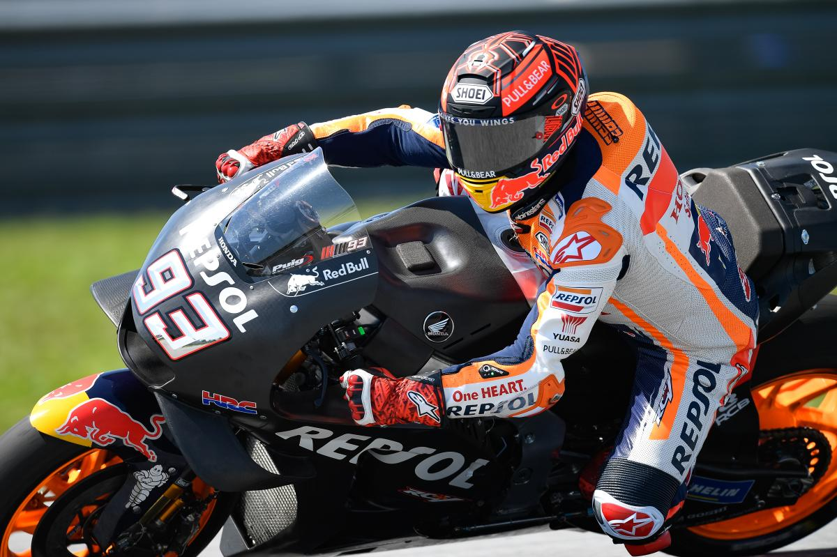 Marquez top at midday on Day 1 in Malaysia