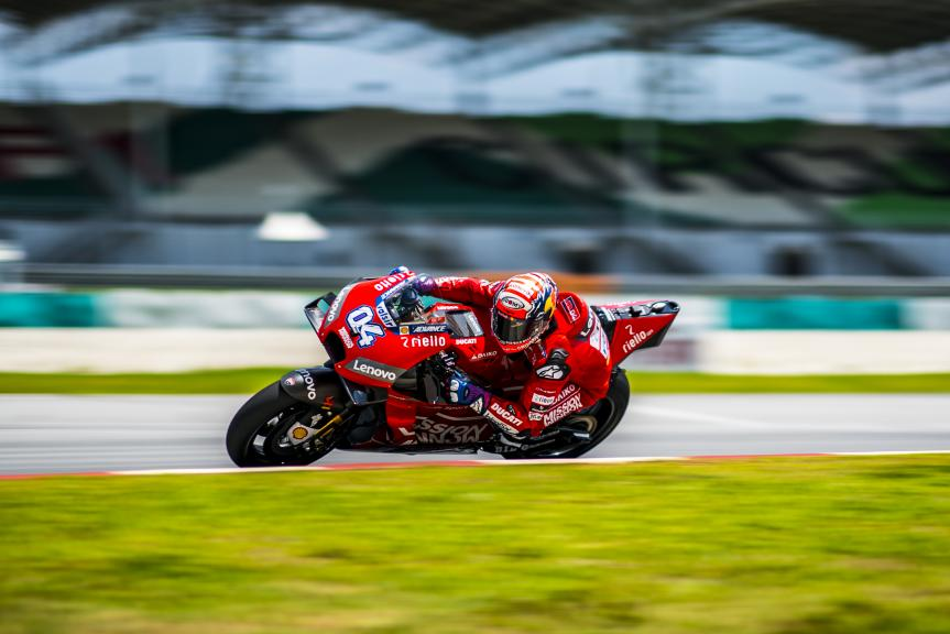 Andrea Dovizioso, Mission Winnow Ducati, MotoGP™ Sepang Winter Test