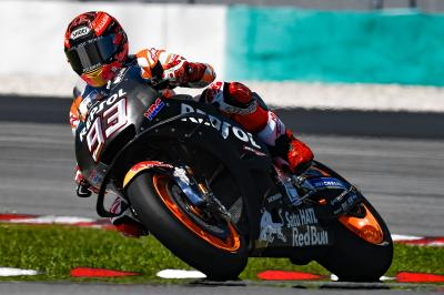 Marquez returns from injury to top Day 1 at Sepang
