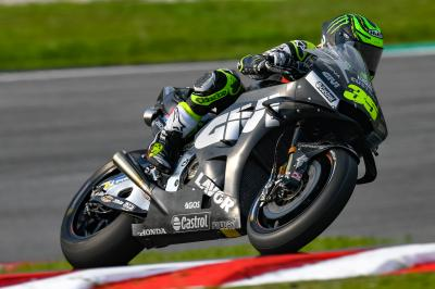"""Crutchlow: """"The first laps were so strange"""""""