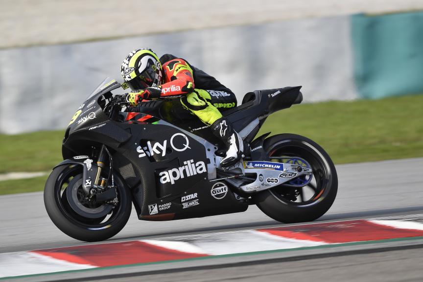 Andrea Iannone, Aprilia Racing Team Gresini, MotoGP™ Sepang Winter Test