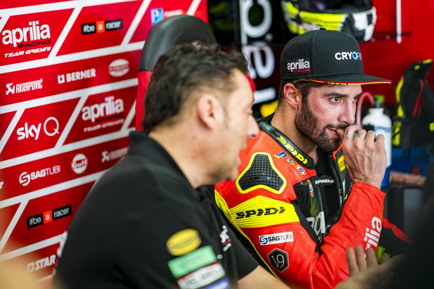 Andrea Iannone, Aprilia Racing Team Gresini, MotoGP™ Sepang Winter Test