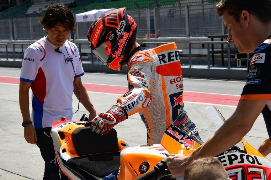 Marc Marquez, Repsol Honda Team, MotoGP™ Sepang Winter Test