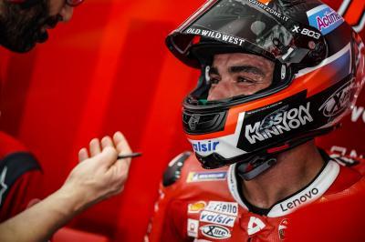 Petrucci, ¿un seguro de vida para Ducati?