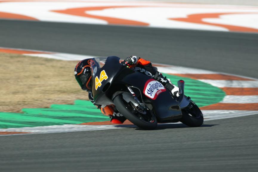 VAlencia Test, Moto2, Moto3